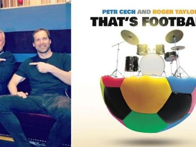 Arsenal's Cech releases single with Queen's Roger Taylor