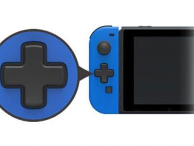 Hori Is Making Left Switch Joy-Cons With Cross-Shaped D-Pads