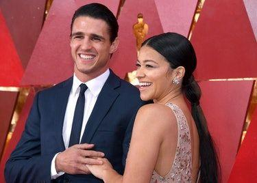 Gina Rodriguez's 2018 Oscars Look Is The Answer To Bad Hair Days