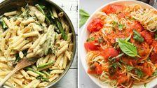 25 Vegan Pasta Recipes For Meatless Meals
