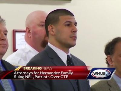 Hernandez family lawyers say player had CTE; lawsuit planned against NFL