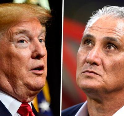 'Brazil have five world titles!' - Tite fires back at US president Trump after 'soccer country' jibe
