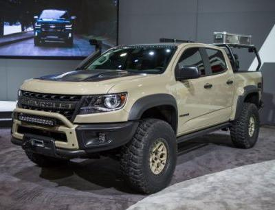 The Chevrolet Colorado ZR2 AEV Concept Is Seriously Hard Core-and Chevy Might Build It