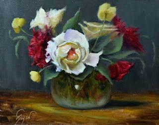 The Christmas Rose by artist Pat Meyer