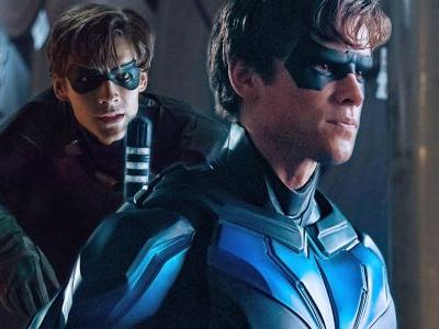 Titans Season 1 Post-Credits Scene Image Shows Nightwing In Action