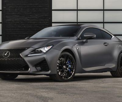 Lexus Celebrates 10 Years of Its Performance Line with Anniversary GS F & RC F