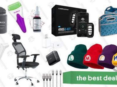 Sunday's Best Deals: Compustar 2-Way Remote Start System, USB C Fast Chargers, Trunk Organizer & Cooler Combos, Office Rolling Chair, Skincare Tools & Products, Infrared Thermometer, and More