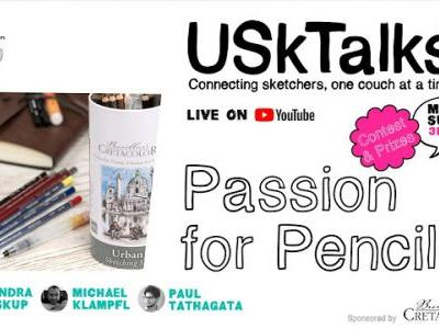 Next USK Talks: Passion for Pencils