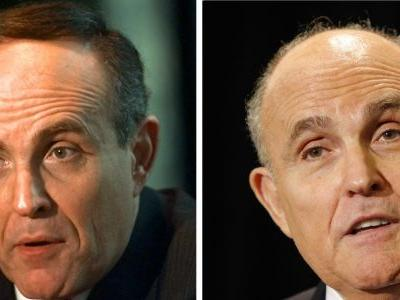 The time Rudy Giuliani boldly got rid of his comb-over, like a real man
