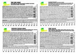 Meat and Poultry Wrap, Salad Products recalled for Listeria in facility