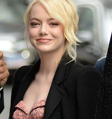 Emma Stone Carrying Hillary Clinton's Book Speaks Volumes