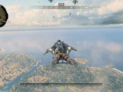 How to Deploy Wingsuit in Blackout Battle Royale