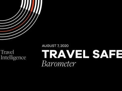 MMGY Travel Intelligence Travel Safety Barometer - August 7th