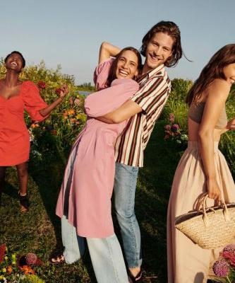 Life in Bloom: Boyd & Anders Star in Mango Summer '20 Campaign