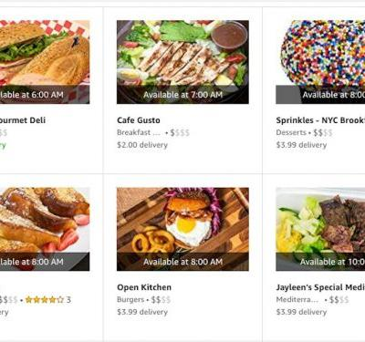 Amazon axes its takeaway delivery service in the US as competition from Uber Eats, Grubhub heats up