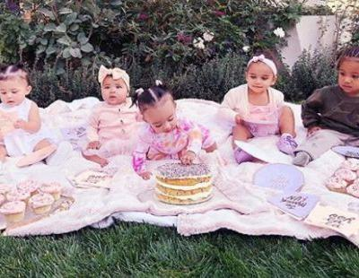 Kardashian babies celebrate True Thompson's 6-month birthday