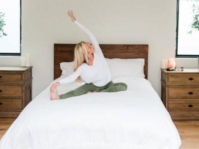 Zoe Welch Shows Us How To Practice Saucha In Our Bedroom