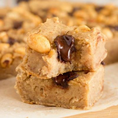 Vegan White Bean Blondies