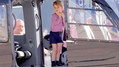 The historical reason why Prince George always wears shorts