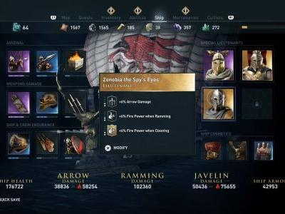 Assassin's Creed Odyssey Special Lieutenants guide - where to find the best crew members for the Adrestia
