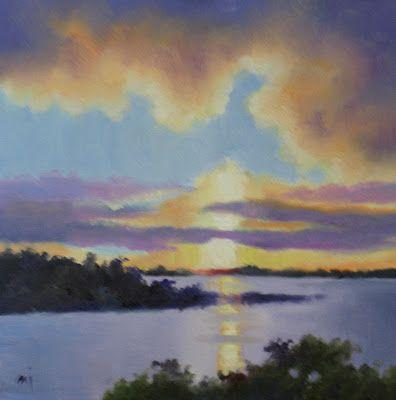 Small Sunset - SOLD