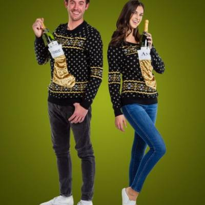 This André x Tipsy Elves 2019 Ugly Holiday Sweater Collection Is Poppin'