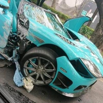 Koenigsegg CCXR 'Special One' Crashed In Mexico