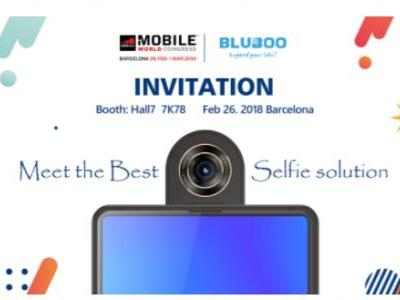 BLUBOO S2 To Launch At MWC 2018 With A Rotating Camera