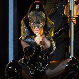 Nicki Minaj's Latest Leather-Clad Performance Is Almost Too Hot For TV