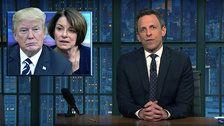 Seth Meyers Promises His Vote To A Democrat - On One Condition