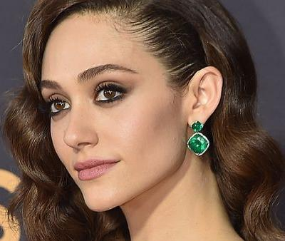 Emmy Rossum's Nude-Pink Lip at the Emmys Was Courtesy of This Drugstore Product-and It's Currently on Sale
