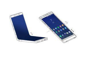 Samsung may take on the bendy Motorola RAZR with a compact 6.7