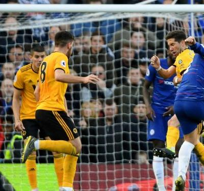Chelsea 1 Wolves 1: Last-gasp Hazard strike rescues Blues