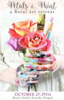 Petals and paint retreat now open for registration!