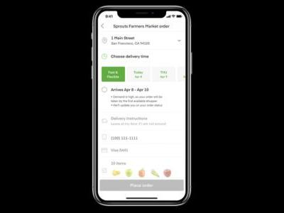Instacart adds new features aimed at opening more delivery windows