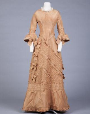 Dress1883-1889Goldstein Museum of Design