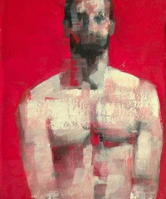 """""""Male Torso 12"""" at Metro Pictures"""