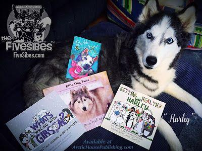 Woo! It's National Book Lovers Day, and FiveSibes Have Some Dog Books for You!