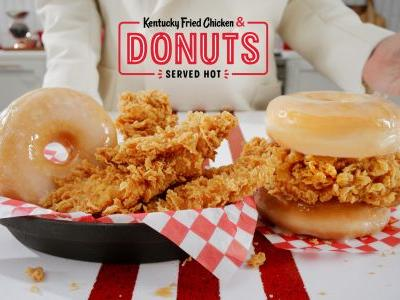 KFC releasing its fried chicken and donut sandwich nationwide