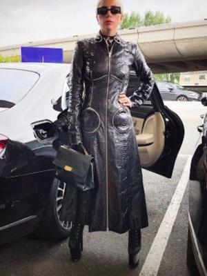 Is Lady Gaga Auditioning for a Role in 'The Matrix', Or.?