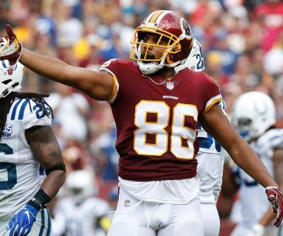 Former Pro Bowl tight end Jordan Reed signs with San Francisco 49ers, per report