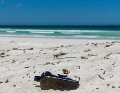 The world's oldest message in a bottle was found on a beach in Australia