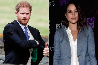 Prince Harry brings Meghan Markle to wedding reception