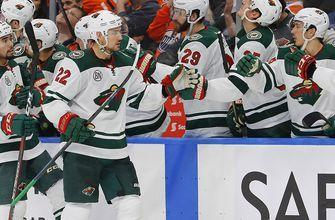 WATCH: Wild's Foligno, Niederreiter score in loss to Oilers