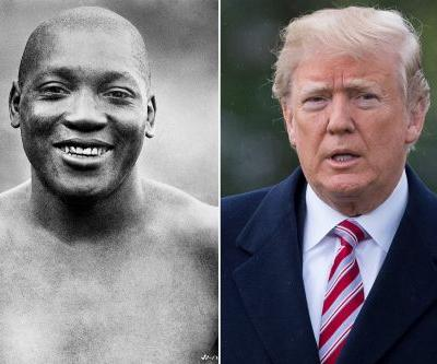 Trump considering pardon of late boxing champ Jack Johnson