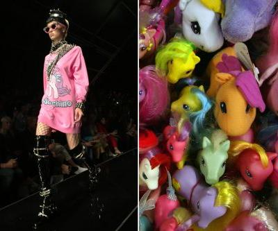 Moschino's 'My Little Pony' parade is '80s love on steroids