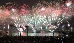 Hong Kong welcomed 2019 with HK$14 million fireworks and light show