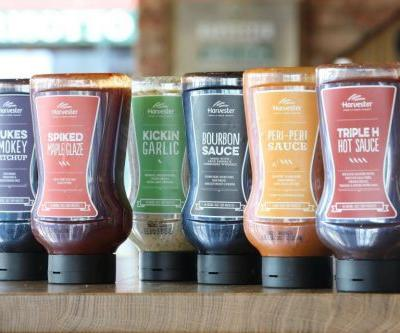 Harvester is now selling its own special sauces so you no longer have to share with other guests