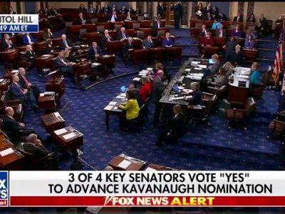Same Day GOP Votes for Kavanaugh the Nobel Prize is Awarded to People Fighting Sexual Violence Against Women
