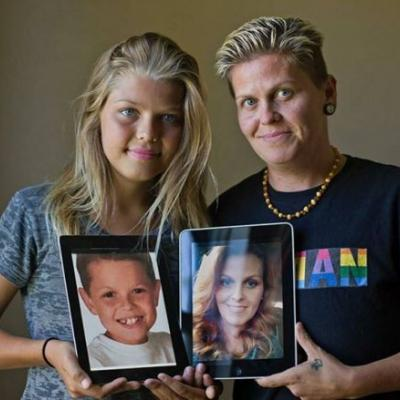 Dad comes out as transgender three years after his daughter